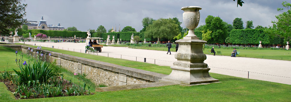Jardin Tuileries, Paris