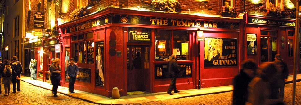 Dublin Temple Bar Area Review - Best pubs & sightseeing | Free ...