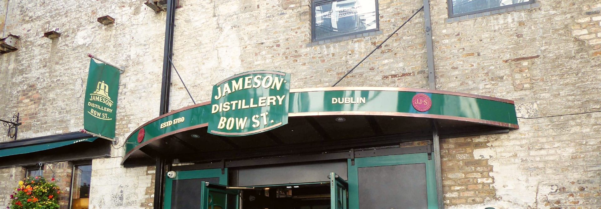 Jameson Distillery Header