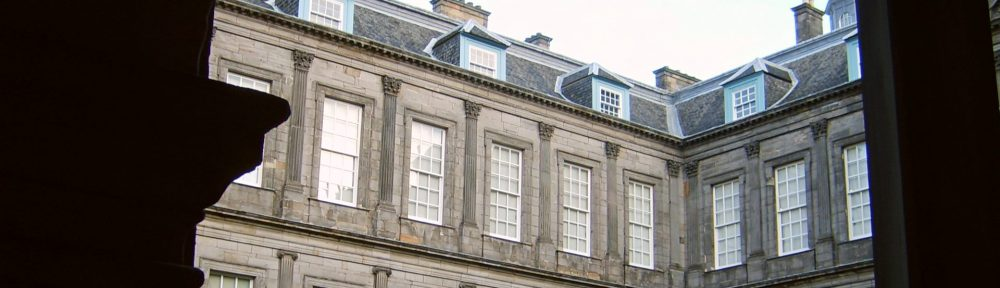 Holyrood House, Edinburgh