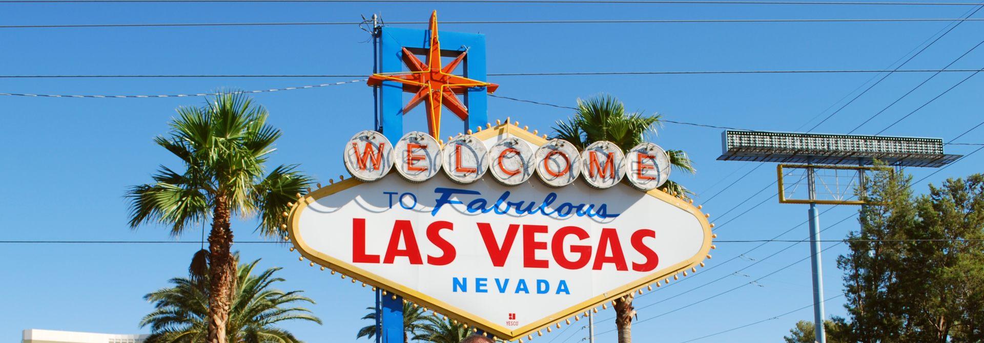 Las Vegas Sign Header