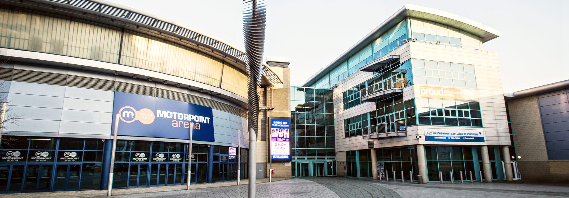 Motorpoint Arena Header