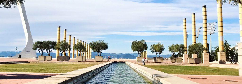 Barcelona Olympic Park Header
