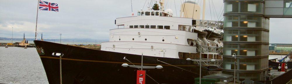 Royal Yacht Britannia,Leith