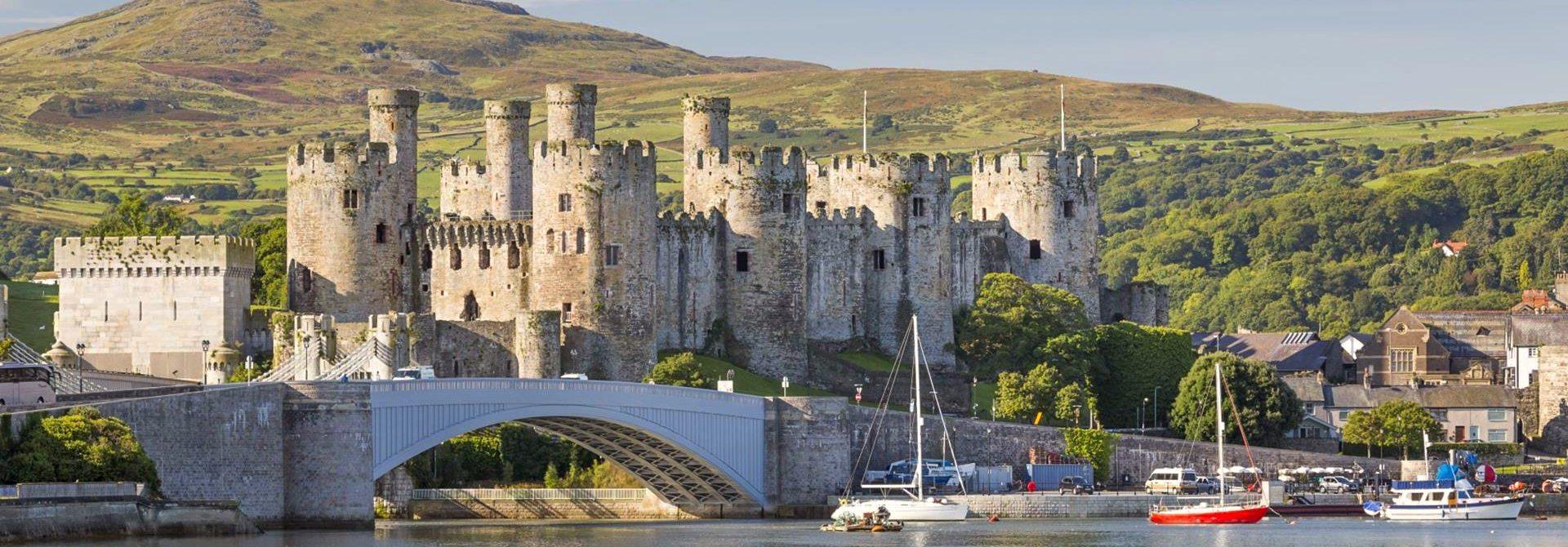 Conwy Castle Header