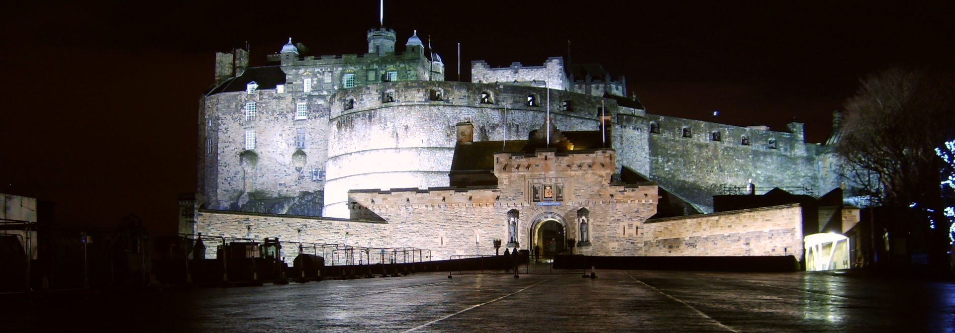 Edinburgh Castle Header