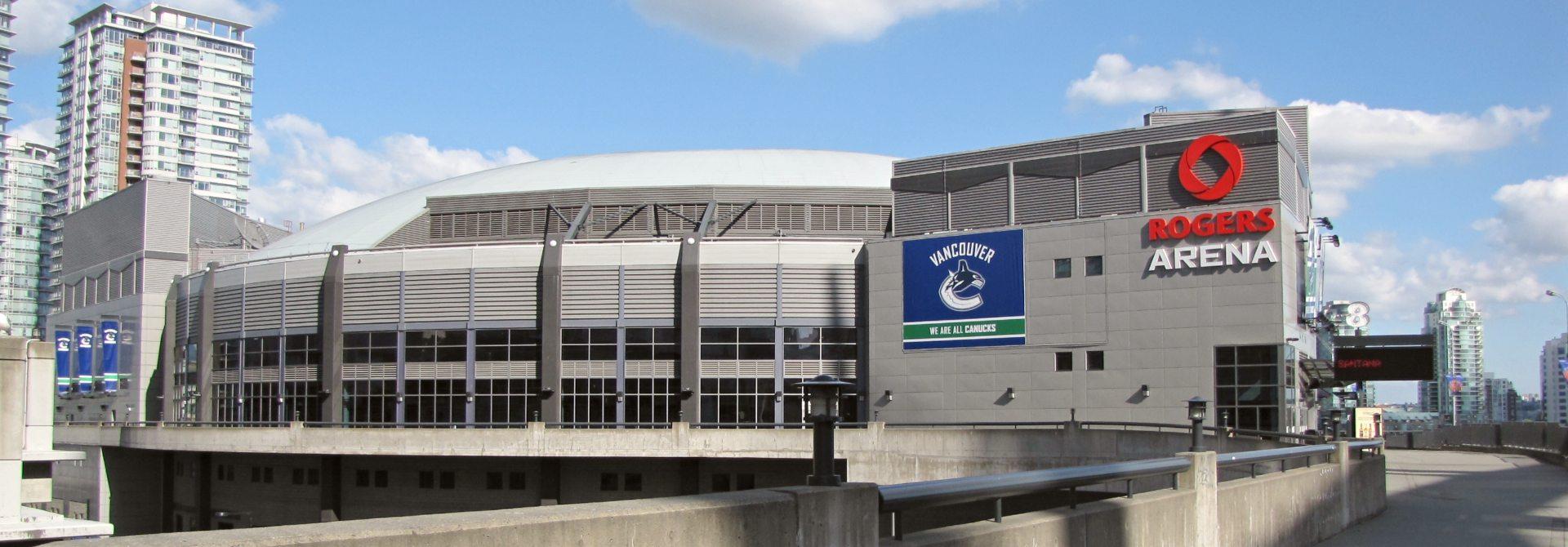 Rogers Arena Header