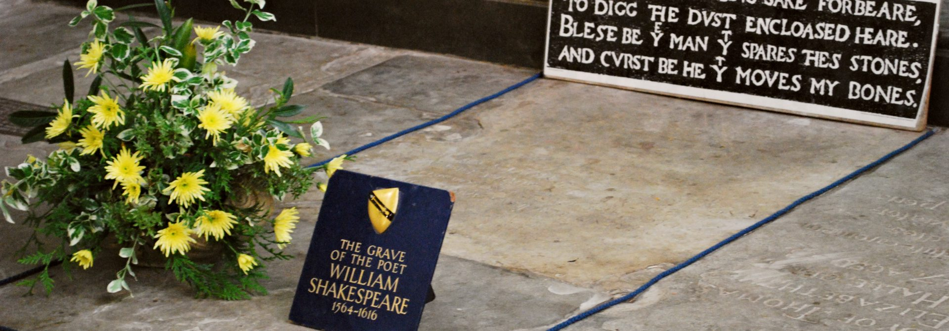 Shakespeare's Grave Header