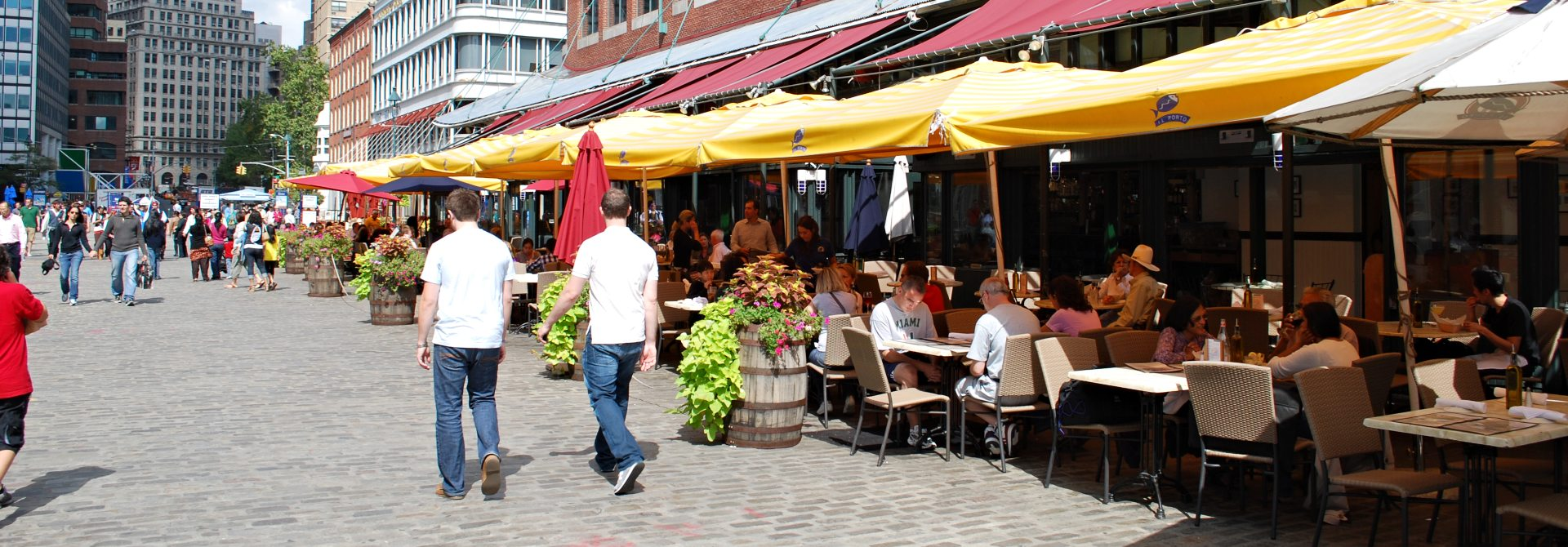 South Street Seaport Header