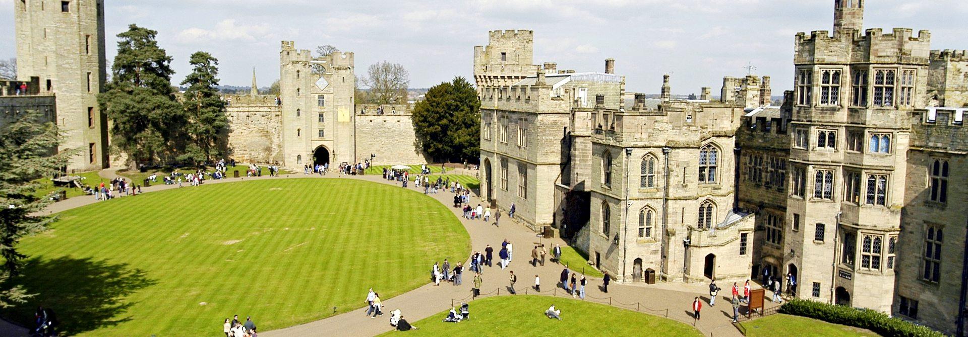 Warwick Castle Header