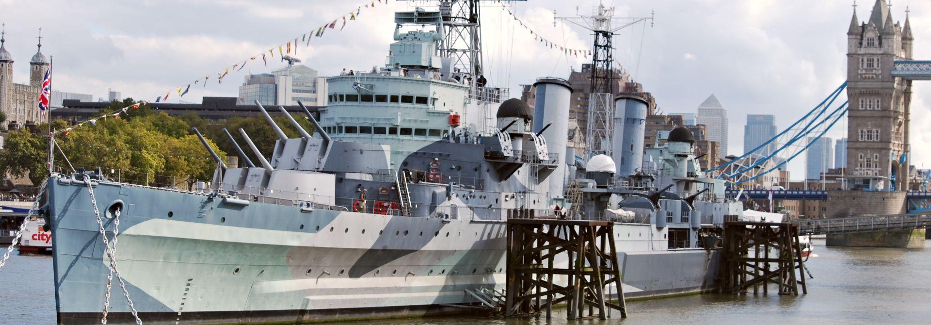 HMS Belfast Hero