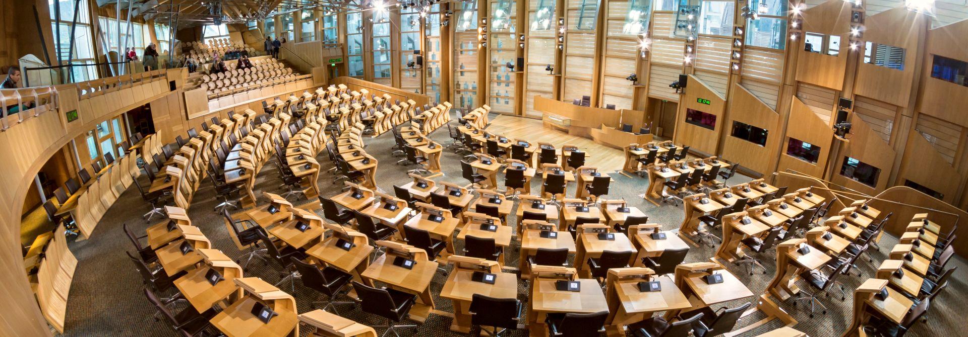 Scottish Parliament Hero
