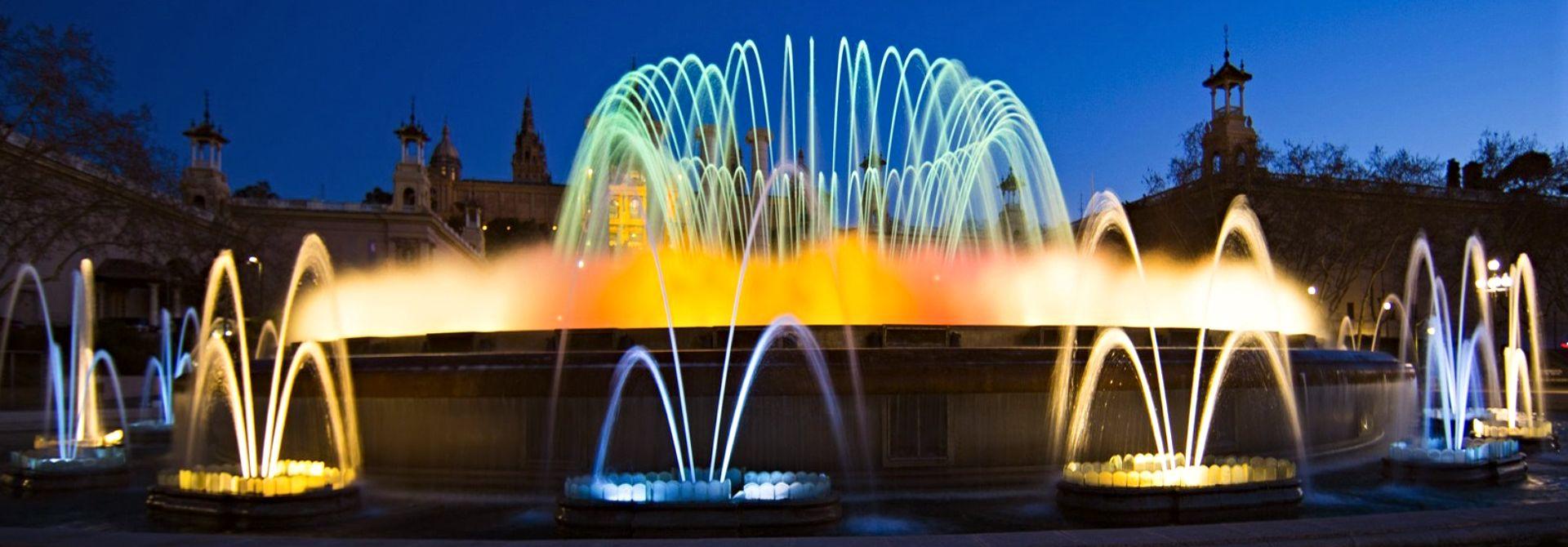 Barcelona Magic Fountain Hero