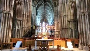 Lichfield Cathedral, Staffordshire