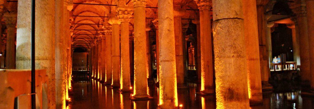 Basilica Cistern Header