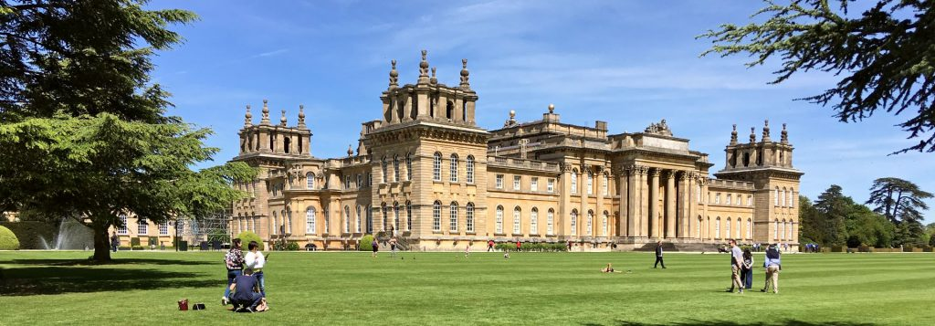 Blenheim Palace Header