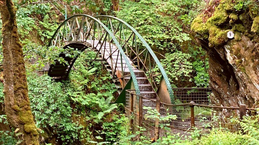 Devil's Bridge Waterfalls